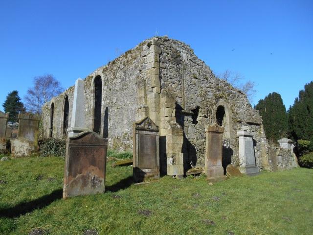 Ruins of the 1730 Wigtown parish church