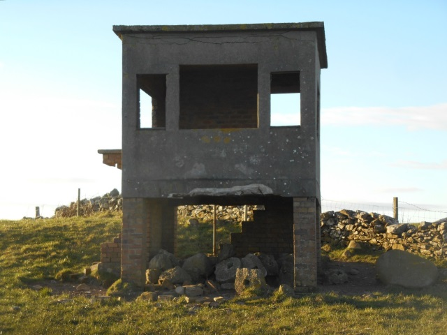 An old WW2 lookout post