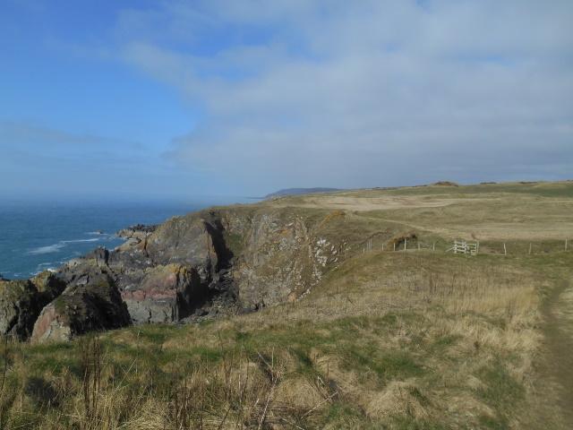 Cliffs somewhere near Castle Feather