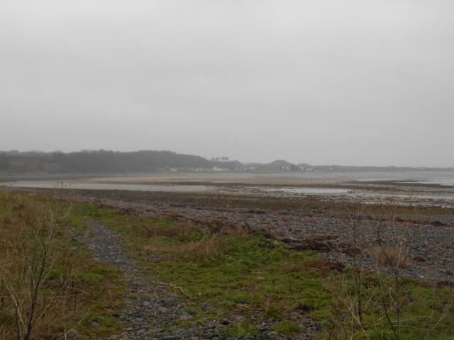 Sandhead as seen from Ardwell Mill