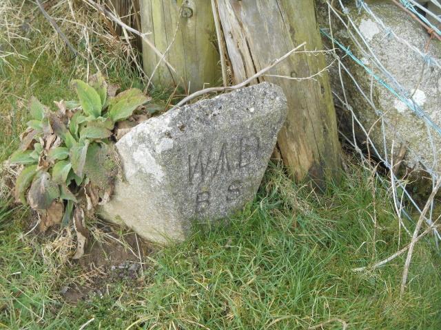 War Department boundary stone