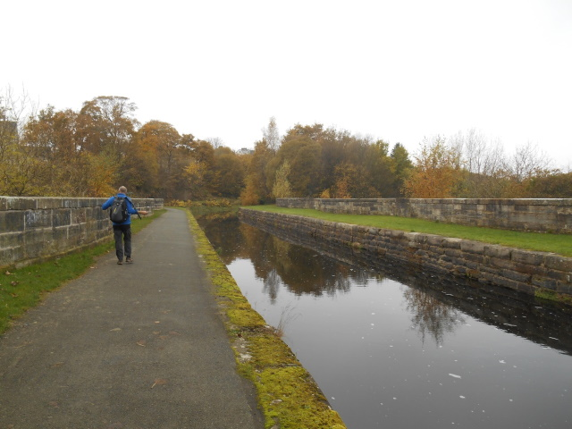 The Lemming on top of Kelvin Crossing Aqueduct