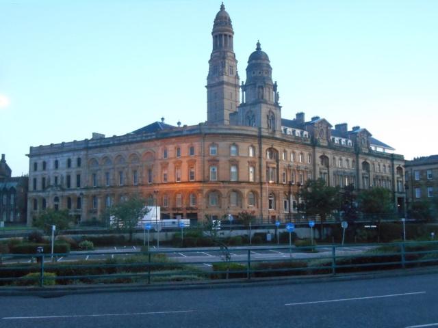 Greenock Municipal Buildings and Victoria Tower