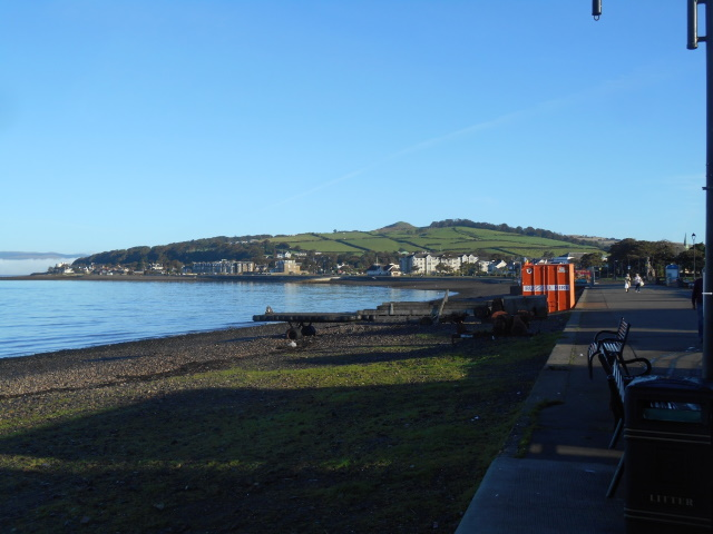 View north from largs including Knock Hill