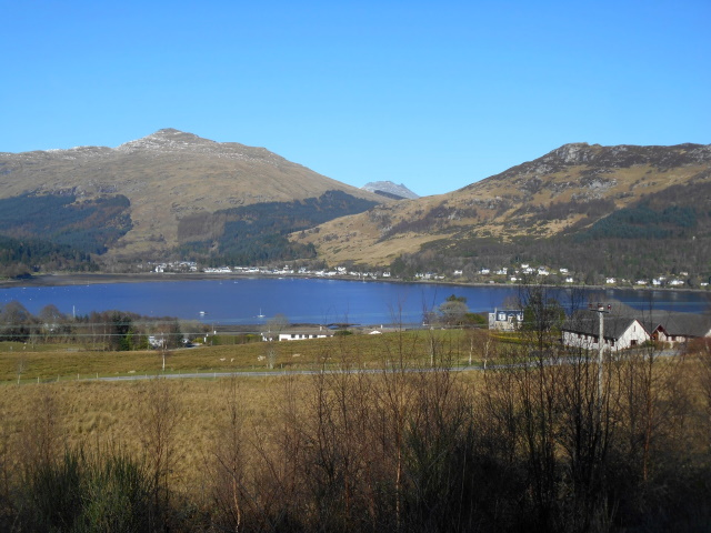 Loch Dornich from the forest road.