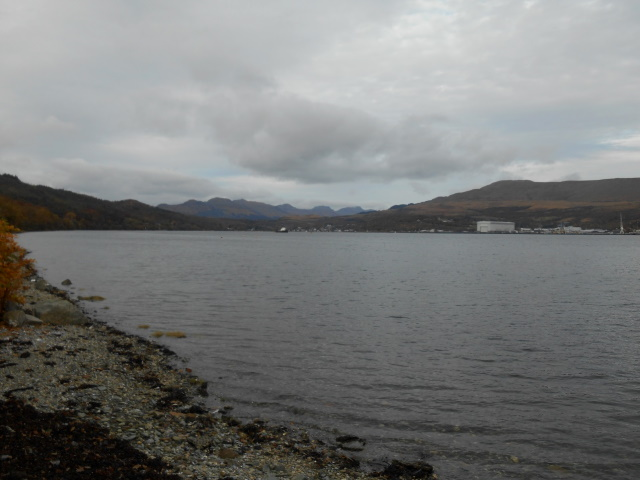 Mountains behind Garelochhead