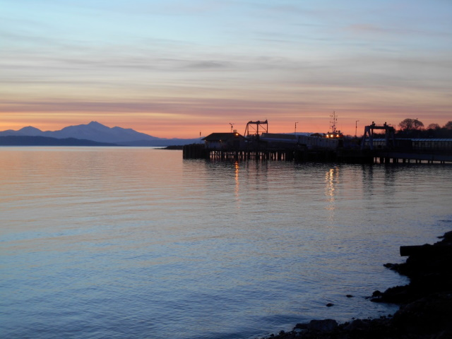 Craignure Bay at sunrise