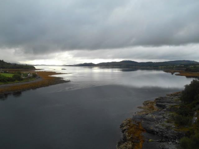 View from Creagan Bridge