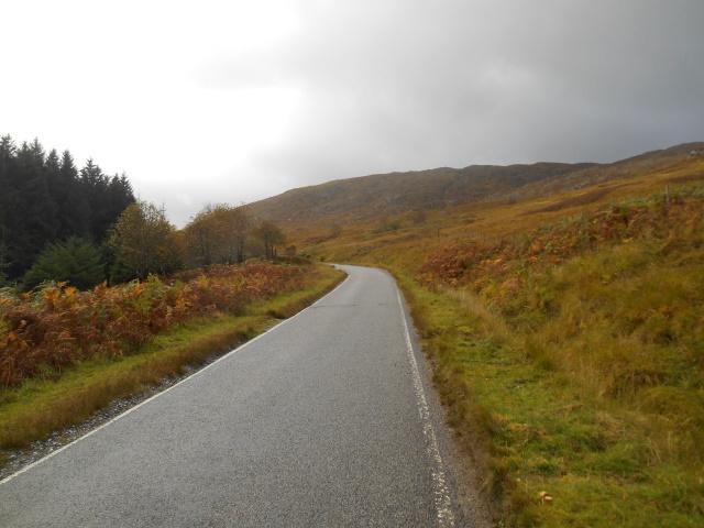 A884 near Doire nan Gad