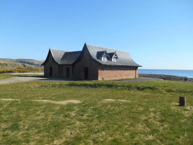 Dougarie boathouse