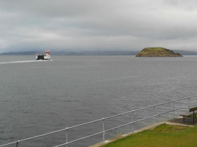 Lismore ferry & Maiden Island