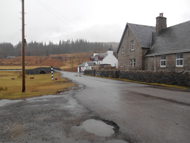 Pennyghael community hall and the old smithy