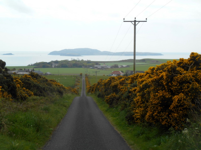 Sanda Island ahead