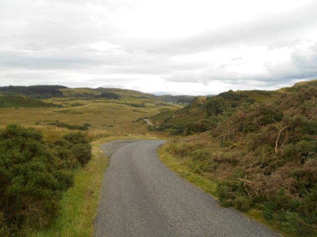 Empty road to Barranrioch