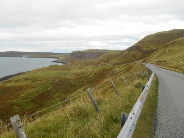 Coast road by Lùb an Sgòir