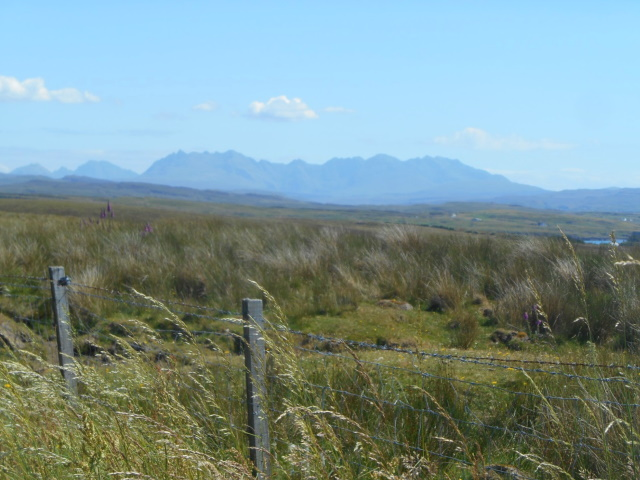 Black Cuillin from Dunvegan