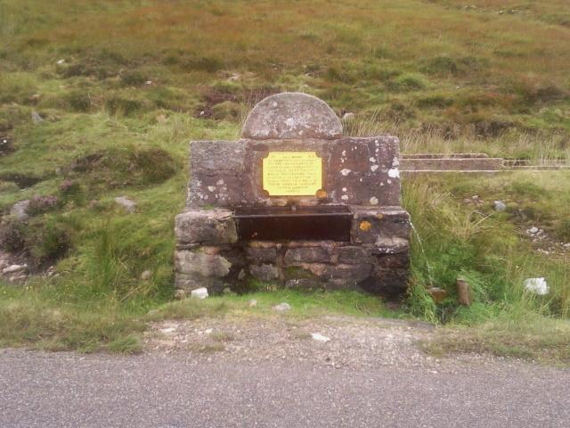 Memorial well