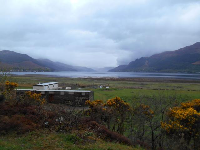Loch Duich from Shiel Bridge