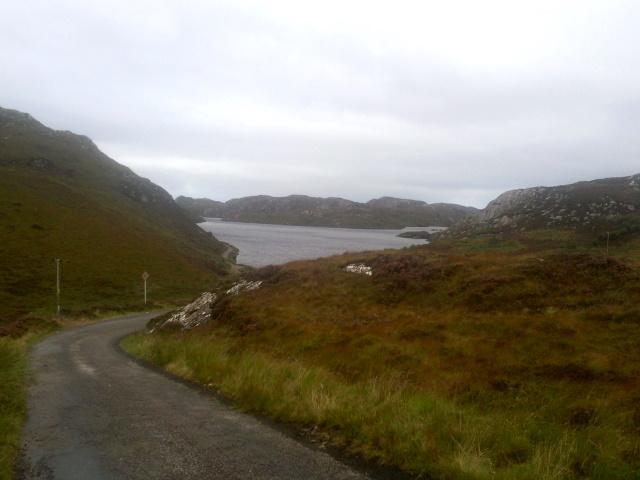 Approaching Loch nam Brac