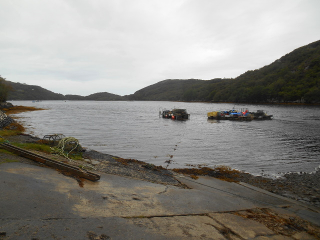 Loch Nedd slipway