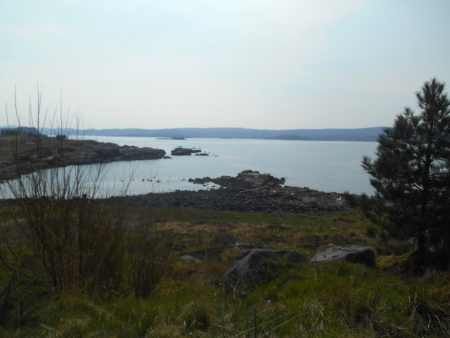 Loch Ewe as seen from perfume factory