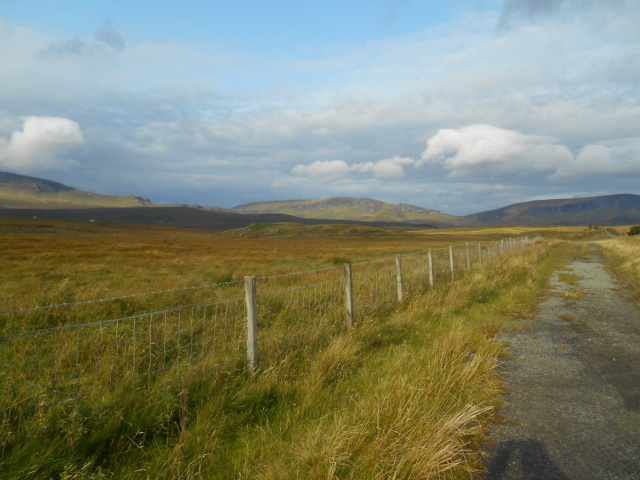 Old road alignment near Bonhill