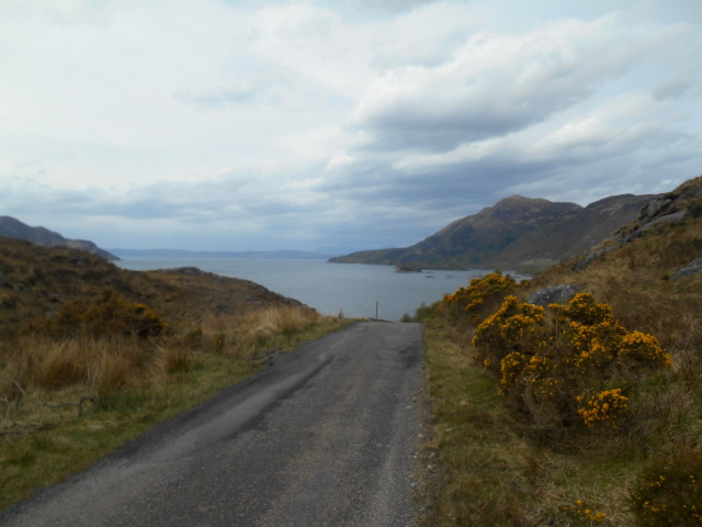 Road out of Arnisdale