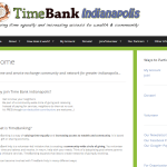 Sample Work - TimeBank Indianapolis