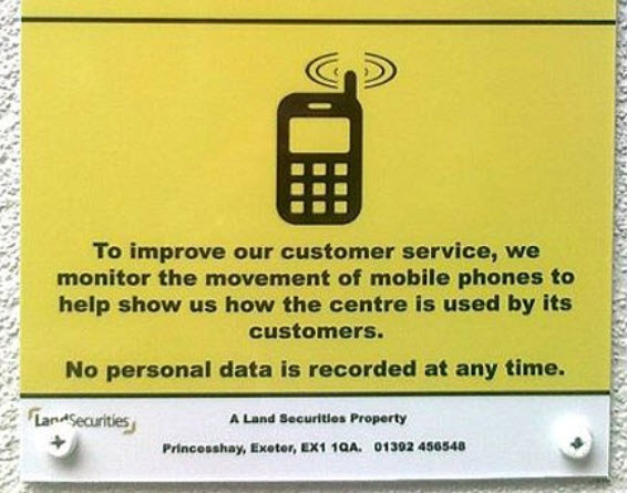 They Monitor Mobile Phone Movements To Improve Customer Service - Helpful Colin