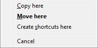 Drag-n-Drop Context Menu 2