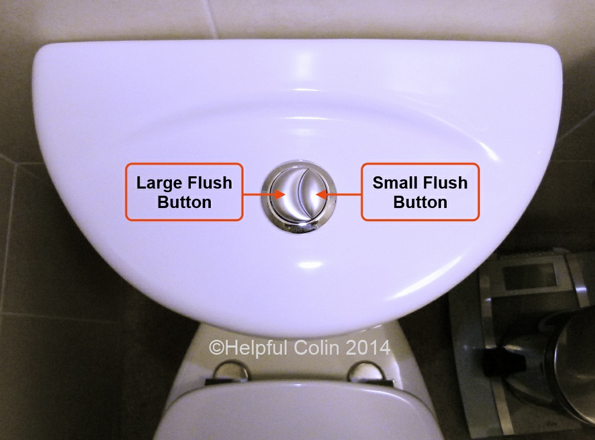 Dual Flush Toilet Cistern Lid Removal