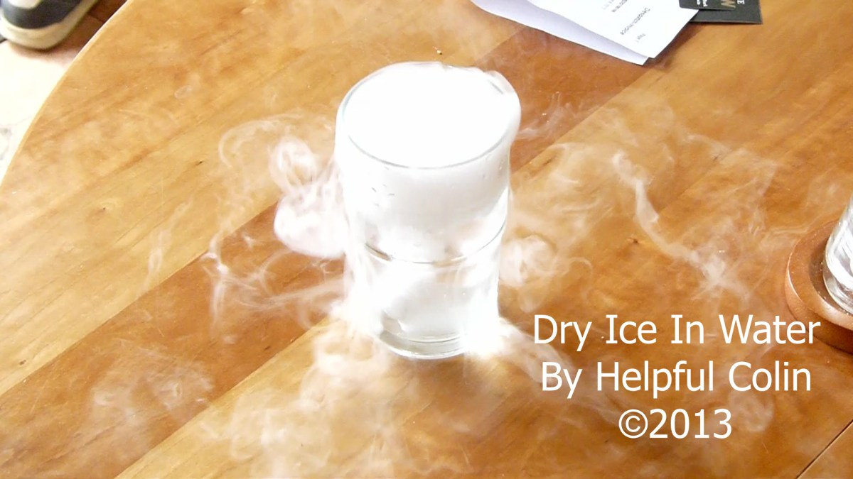 Dry Ice In Water