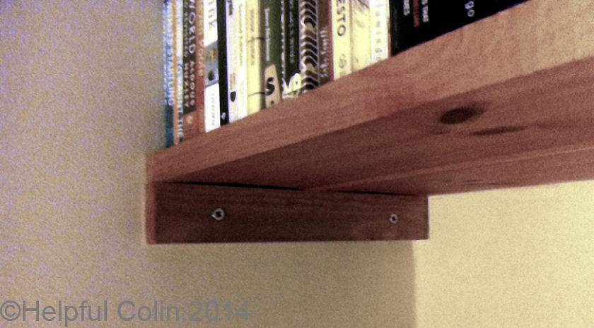 fixing shelf battens