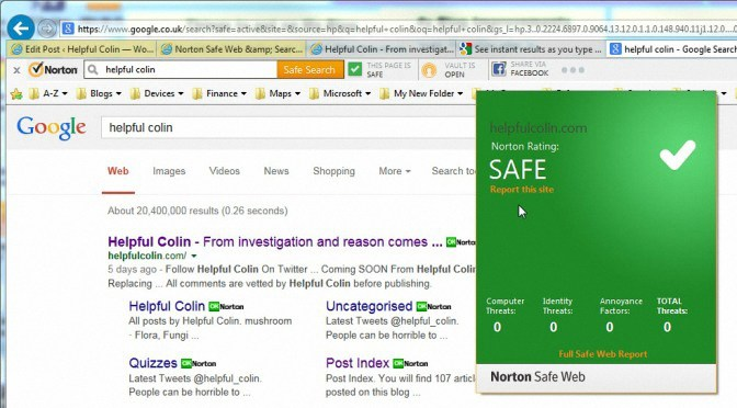 Norton Safe Web & Search Engine Interaction