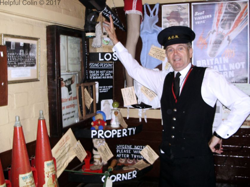Quorn & Woodhouse Stationmaster