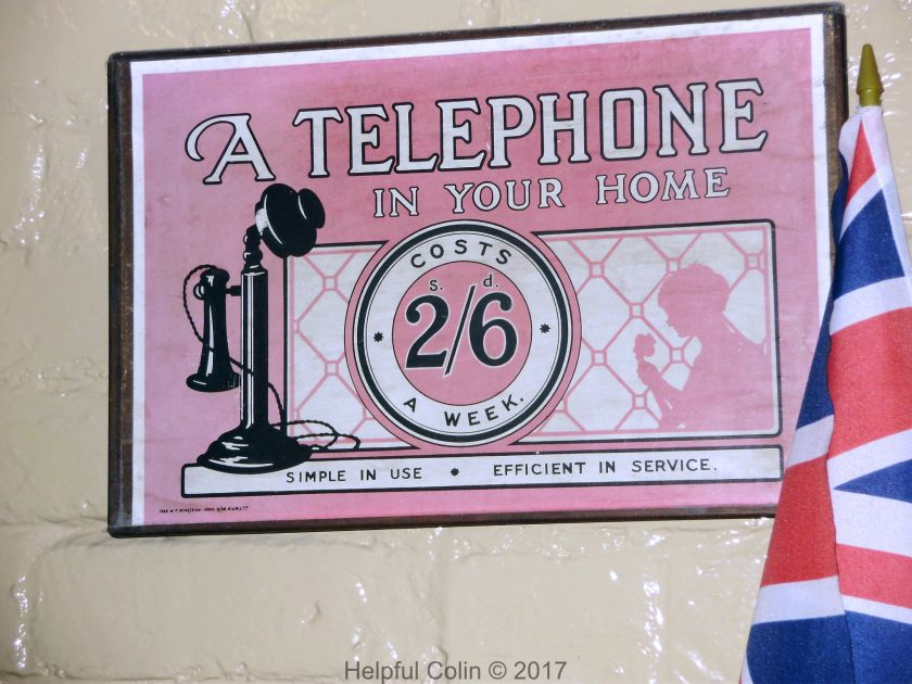 Telephone Advert at Quorn & Woodhouse Station
