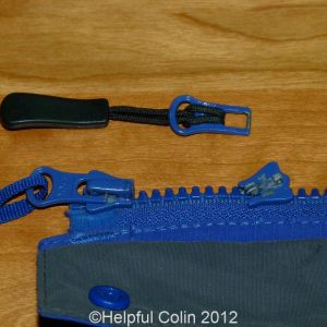zipper slider repairs