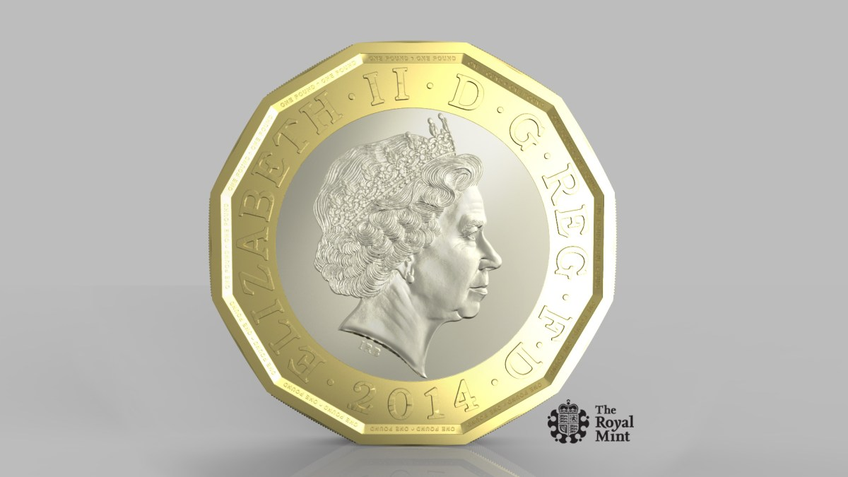 New One Pound Coin in 2017