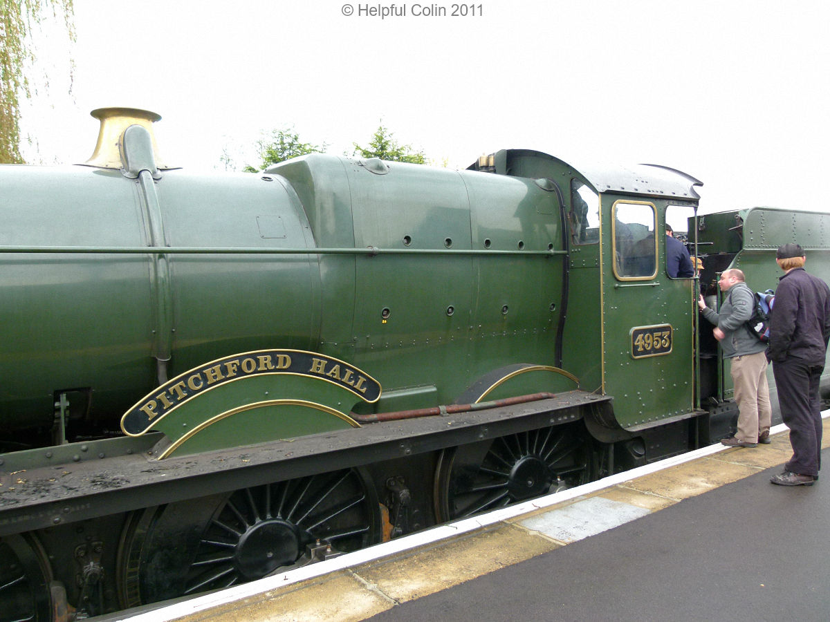 Railway Experiences Pitchford Hall 4953