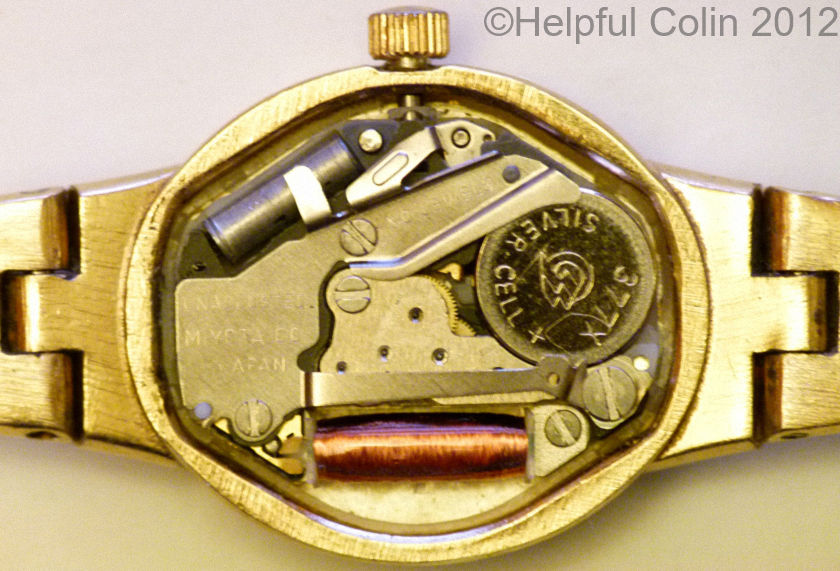 Changing A Watch Battery