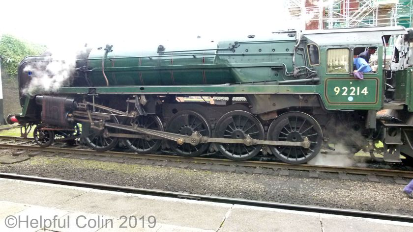 92214 autumn steam gala 2019