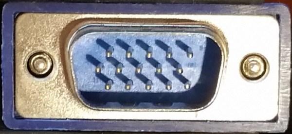 15 Pin VGA Male Plug