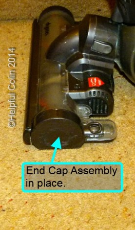 End-cap In Place