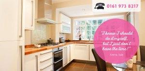 Helpful Home Slider - Tidy Kitchen