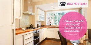 Helpful Home Slider - Tidy Kitchen
