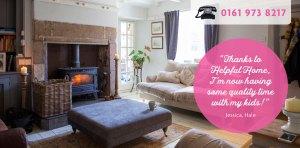 Helpful Home Slider - Tidy Living Room