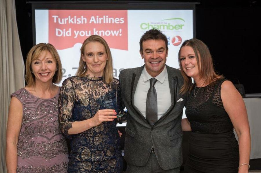 Helpful Home's Local Cleaners win Property Team Of The Year Award