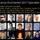 Speakers at WordCamp Rochester 2017 for WordPress