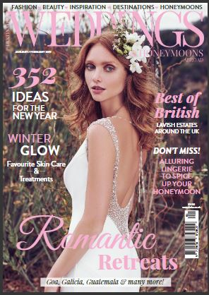 Destination Weddings & Honeymoon Abroad magazine – 2019 – Royal Photoshoot