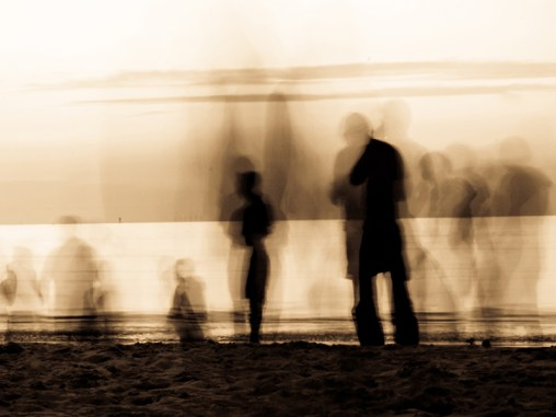 Picture of shadowy figures.